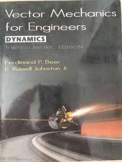 Engineering Textbook - Vector Mechanics For Engineers (Dynamics)