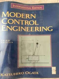Engineering Textbook - Modern Control Engineering