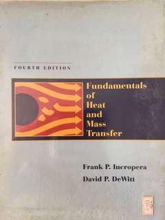 Engineering Textbook - Fundamentals of Heat and Mass Transfer