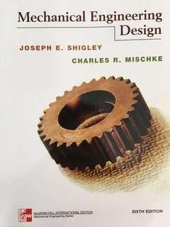 Engineering Textbook - Mechanical Engineering Desigh