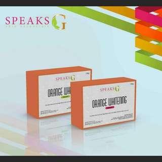 Speaks G Orange Whitening Soap