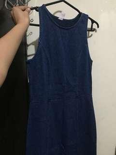 Forever 21 denim dress