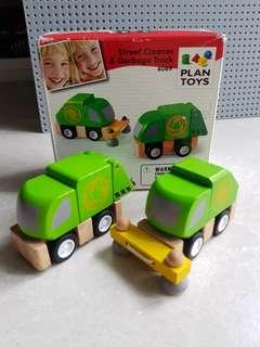 🚚 Plantoy Street Cleaner & Garbage Truck