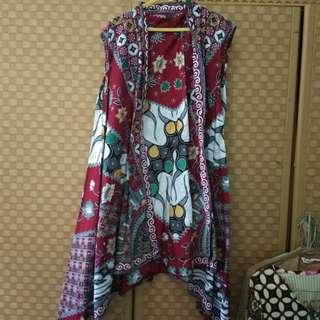 Vest outer batik