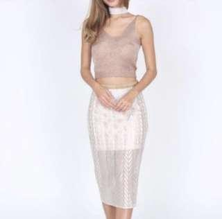 🚚 MDS Skirt in Champagne