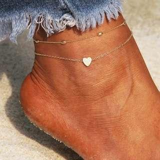 Ankle Bracelets gelang kaki (READY STOCK)