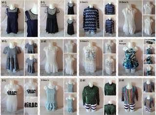 STARTER ONLINE PREPACK TOPS+DRESS