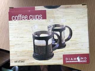玻璃有耳coffee 杯