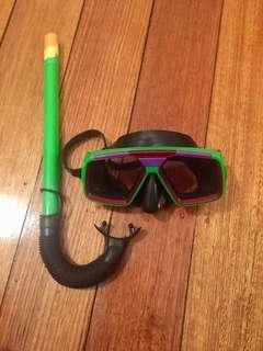 Snorkel set -adjustable
