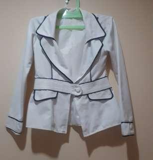 Preloved White Blazer #CNY2019