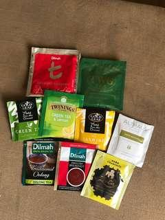 Soothing imported teas
