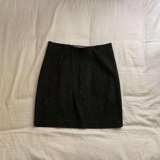 Country Road dark grey mini skirt