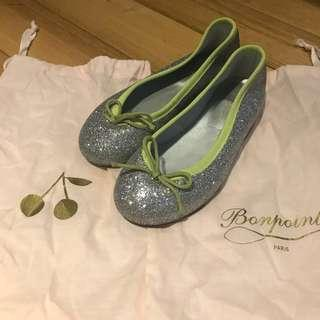 Authentic BN Bonpoint Girls Ballet Flats (Eur 28) (matching mummy pair available)