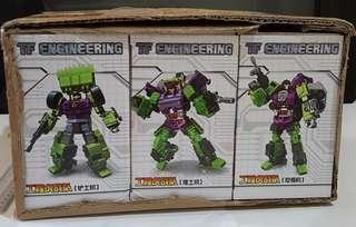 TF Engineering NBK 01 02 & 03 Devastator