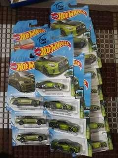Hotwheels t fox r34 r33 r32 available