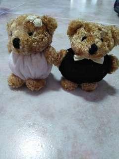🚚 Wedding couple bears
