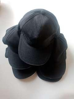Topi Hitam Polos