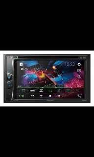 Pioneer AVH-G215BT 6.2″ Clear Type Resistive Screen Bluetooth Hands Free and Music Streaming 7 Band Graphic EQ 5 Selectable UI Colours with Installation. Car Radio And Audio System