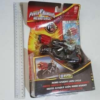 Power Ranger Mega Force Robo Knight Lion Cycle