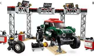 LEGO 75894 SPEED CHAMPIONS 2018 MINI JOHN COOPER WORKS BUGGY CAR & PIT STOP ONLY