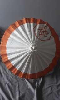 Mini parasol decor