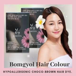 🚚 Hypoallergenic Choco Brown Hair Dye (ammonia-free)