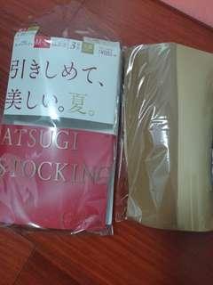 日本Atsugi絲襪 3雙膚色