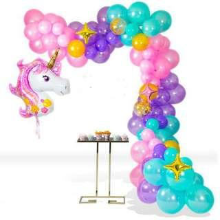 🚚 Unicorn Balloon Garland Backdrop