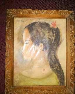 "Lukisan Antik 60an ""eimeda"""