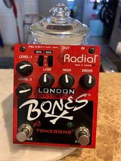 Radial Bones London Dual-Mode Distortion Pedal