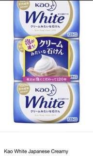 KAO white soap ( 3PCS ) 🇯🇵