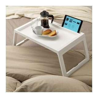 KLIPSK Bed Tray White