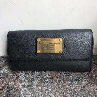 Marc By Marc Jacobs Genuine Leather Black Wallet