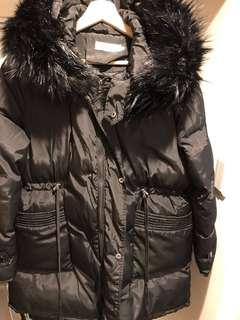 Winter Jacket With Detachable Fur