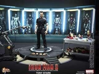 Hottoys Ironman 3 Tony Stark Workshop Hot Toys MMS 191