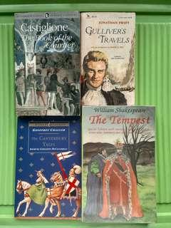 Classic Books (Sold as Bundle)