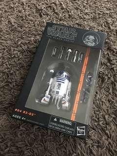 Star Wars R2D2 Black Series #4 Orange