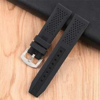 ⌚20mm-BRAND NEW SOFT SILICONE RUBBER WATCH STRAP (18,22,24mm too)⌚