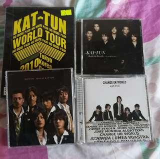 KATTUN: Collection DVD and CD's all in good condition #kattun #japanese #japan