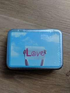 BN Mini Postcard in Tin - Love