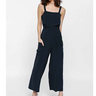 ca7ccdb17fe LOVE BONITO Noella Layered Pocket Jumpsuit (XS)