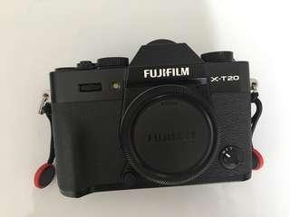 Fujifilm XT20 Black Noir Like New