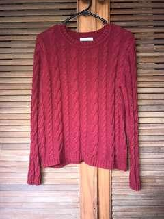 Cotton On Burgundy Sweater