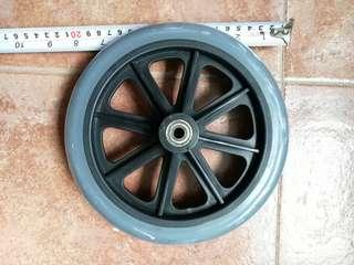 🚚 Spare 8 inches diameter wheels for wheelchair trolley rollator
