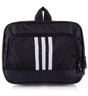 Adidas men's 3 stripes performance wash kit bag