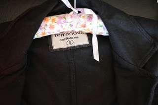 Terranova Black Office Coat/Jacket/Blazer
