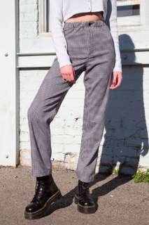 brandy melville checkered pants