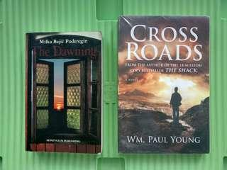 Fiction Books: Cross Roads and The Dawning (Sold as Bundle)