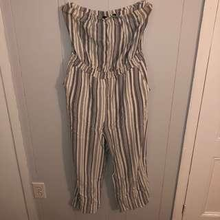 Dynamite Strapless Jumpsuit