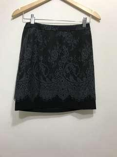 IROO 蕾絲短裙 36